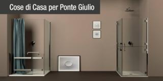 Doccia age friendly: inclusive design per il bagno sicuro di Ponte Giulio