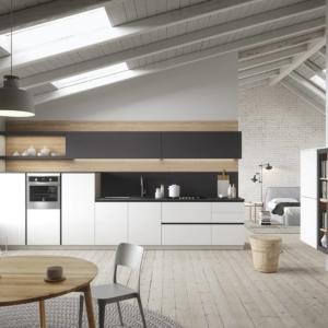 La cucina rientra i mobili che possono usufruire del bonus mobili 2019. In foto, modello First di Snaidero: un modulo base da 60 cm, prezzo 146 euro. www.snaidero.it