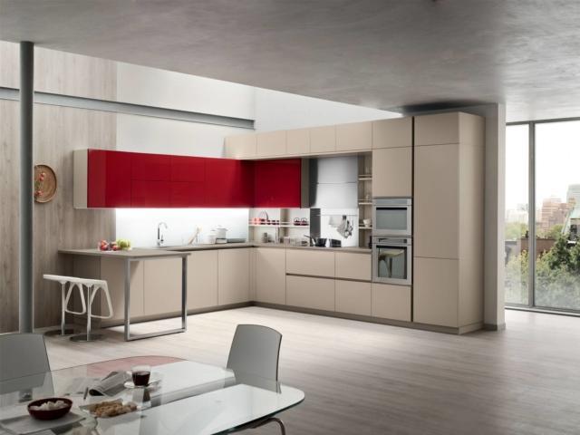 cucina Lounge di Veneta Cucine per contenere di più
