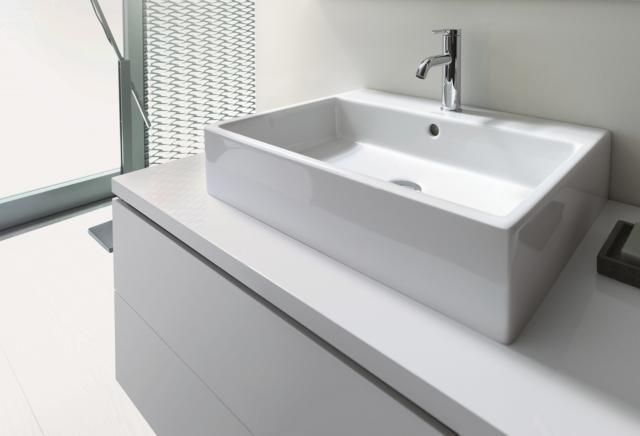 8 duravit veroair lavabi forme squadrate