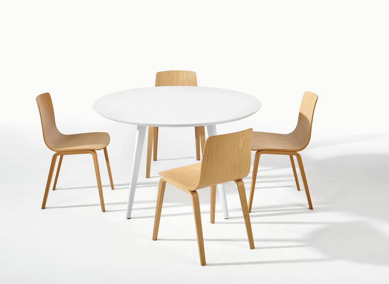 Tavolo rotondo: 4 proposte, con le sedie da abbinare Cose