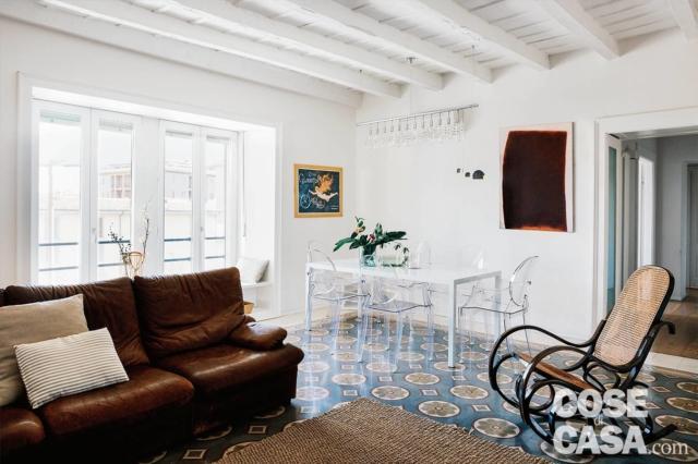 recupero dei pavimenti, soggiorno, zona pranzo