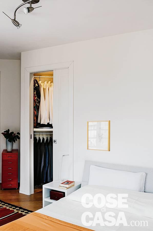 camera, matrimoniale, porta scorrevole, cabina armadio