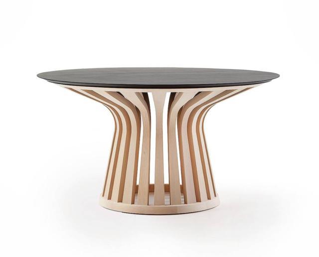 tavolo rotondo CASSINA Lebeau Wood