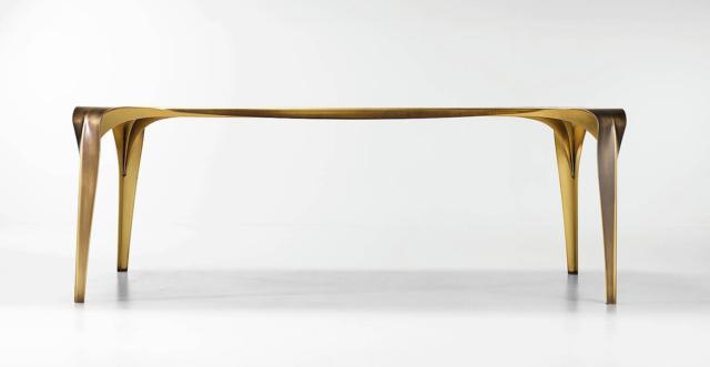 tavolo rettangolare extra lussoConvivium di De Castelli