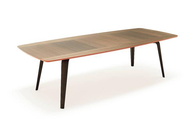 tavolo rettangolare con top sagomatoGramercy di MisuraEmme