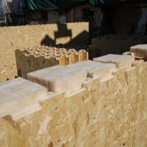 Xyliving di Saint-Gobain: casa costruita in Piemonte (parete isolata con lana di vetro)