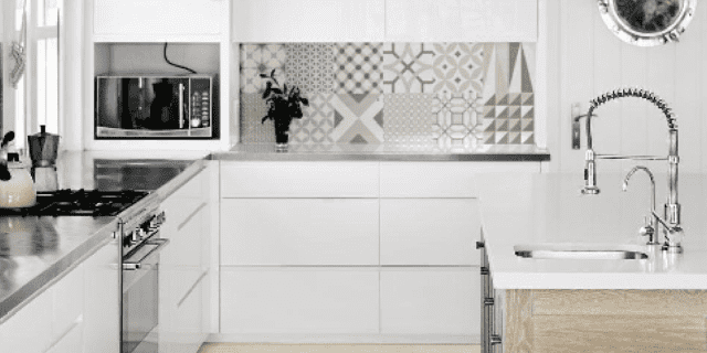Arredamento Casa Moderna Bianca.Come Ravvivare La Cucina Bianca Cose Di Casa