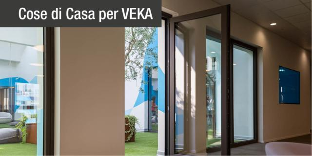 Seta? No, PVC. L'incredibile superficie VEKA SPECTRAL per finestre da toccare