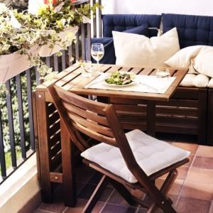 Tavoli Pieghevoli Per Balconi.Tavolini Piccoli Per Il Balcone Per Una Colazione All Aperto Anche