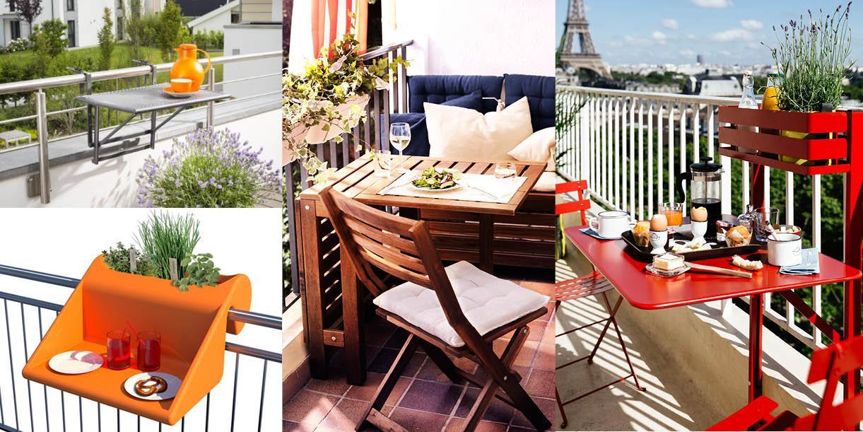 Arredi Per Piccoli Balconi : Tavolini piccoli per il balcone per una colazione all aperto