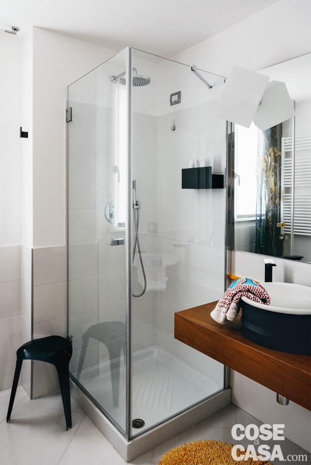 nuovo trilocale bagno con doccia