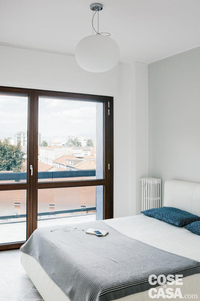camera da letto della casa ampliata da 3 a 4 locali