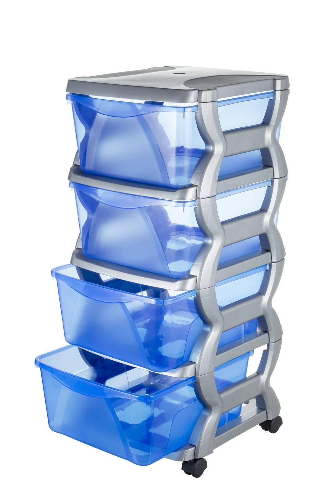 Cassettiere In Plastica Con Rotelle.Cassettiere Per L Esterno Contenere All Aperto Con Stile Cose Di Casa