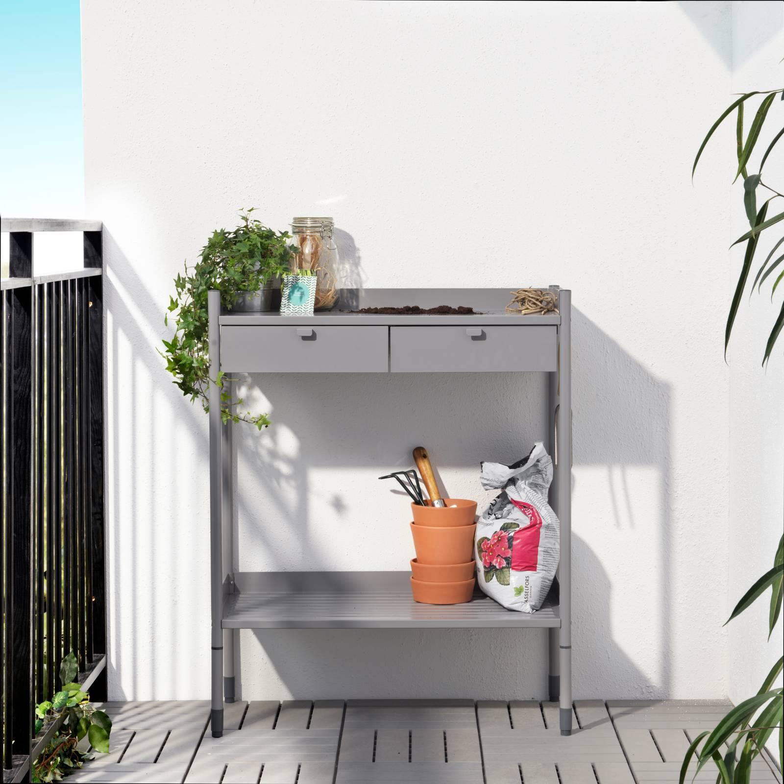 Armadio Metallico Esterno Ikea cassettiere per l'esterno: contenere all'aperto con stile