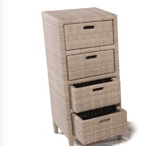 Cassettiere In Plastica Per Armadi.Cassettiere Per L Esterno Contenere All Aperto Con Stile Cose Di Casa