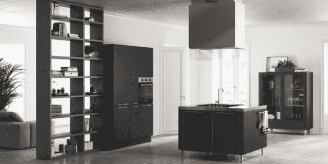 Cucine nere: solo dettagli o total black? - Cose di Casa