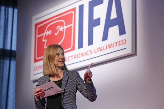 IFA Innovations Media Briefing 2018 - Power Briefings - Marlies Gebetsberger, Senior Director Marketing, Philips Personal Health