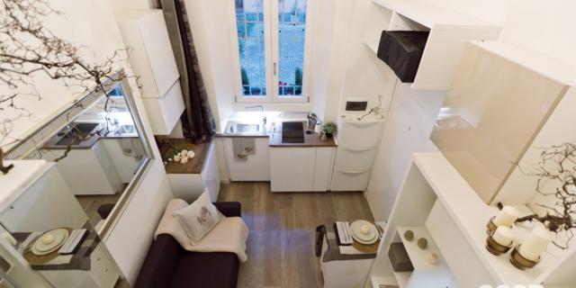 Mini casa di 18 mq con tutti i comfort