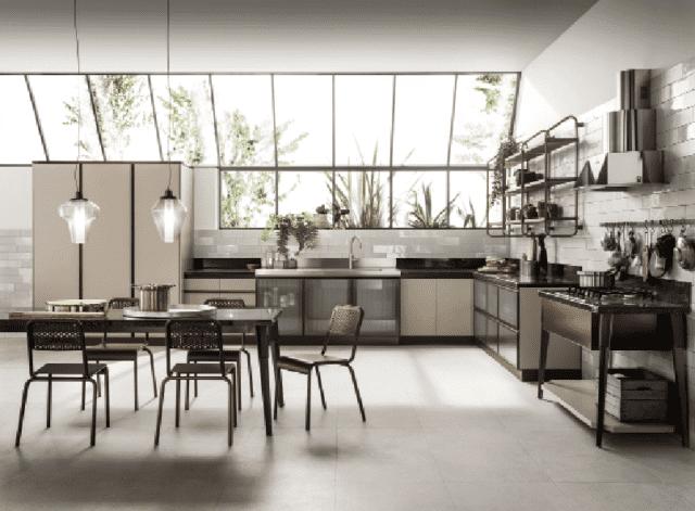scavolini cucina industrial
