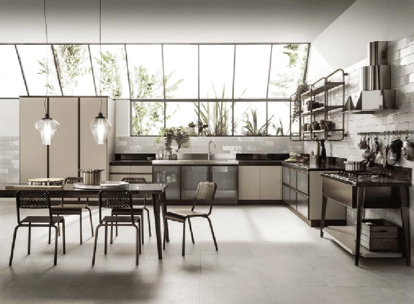 Parquet in cucina con inserto piastrelle cerca con piastrelle