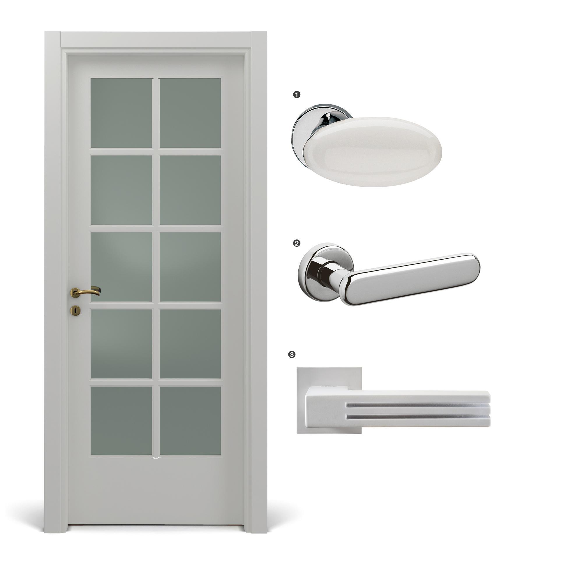 Verniciare Porte Interne Bianche abbinare porte e maniglie: come scegliere stili e colori