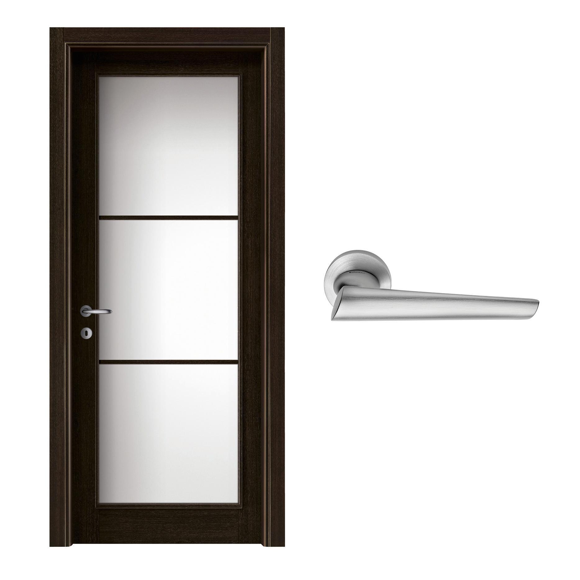 Porte Con Vetro Satinato abbinare porte e maniglie: come scegliere stili e colori