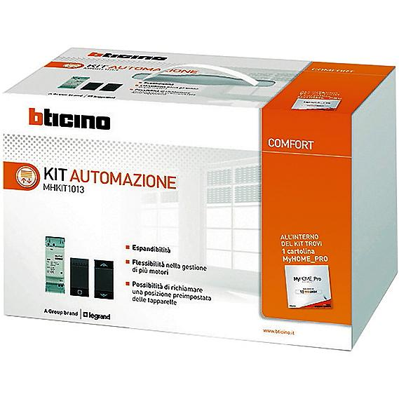 Kit Automazione MyHome Up di BTicino (www.bticino.it)