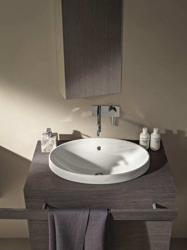 lavabo dalle linee tonde pozzi ginori variform