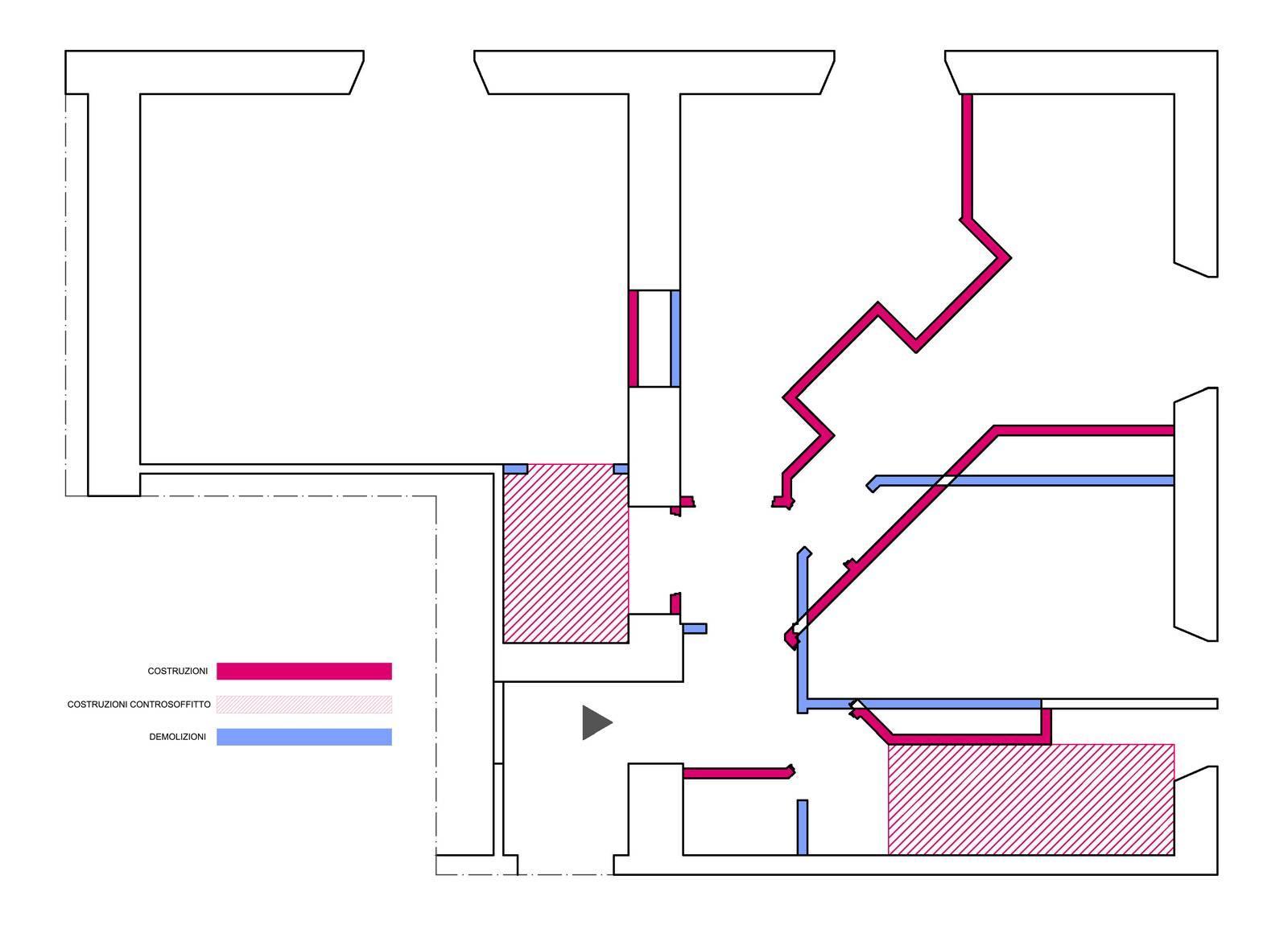 Progetto salvaspazio come trasformare un bilocale in for Planimetria casa tradizionale giapponese