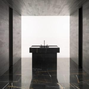 Ambientazione con rubinetto Lignage di Noken Porcelanosa Bathrooms