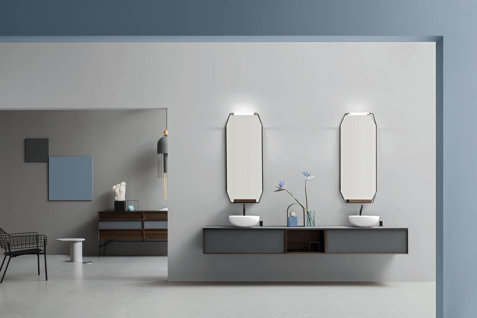 Mobili bagno Cerasa, la collezione DES eclettica e versatile - Cose ...