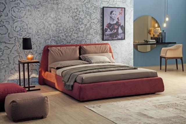 camera da letto con zona beauty di Tonin Casa