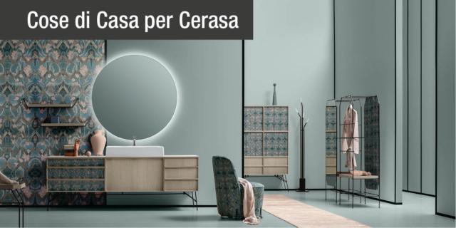 Mobili bagno Cerasa, la collezione DES eclettica e versatile