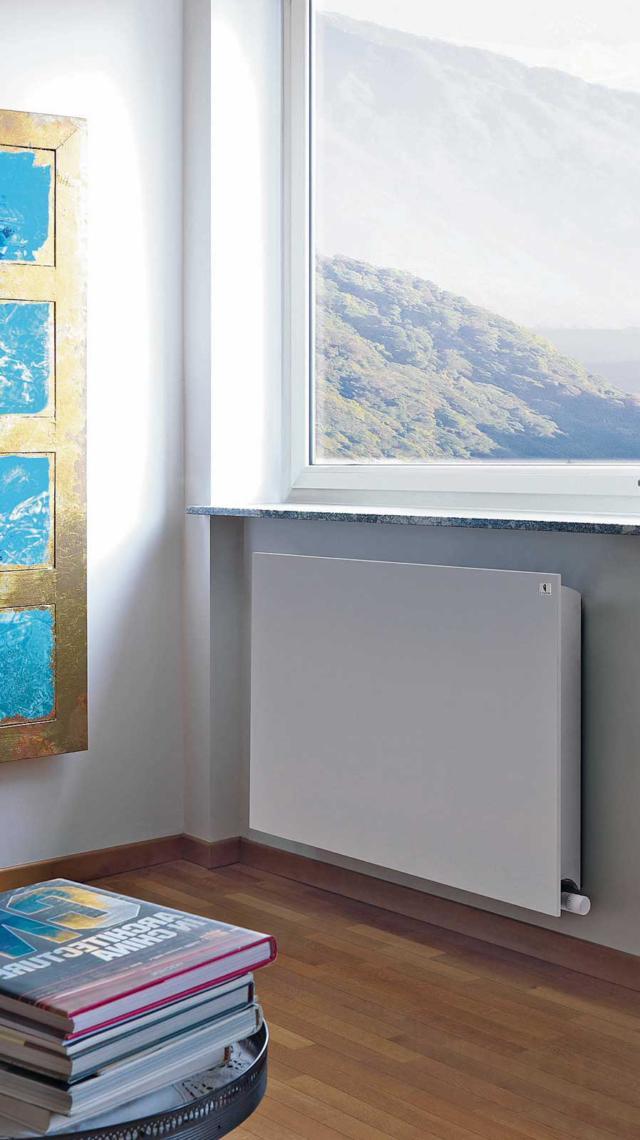 Radiatore Eco-Heat-di-Deltacalor per il riscaldamento ad acqua