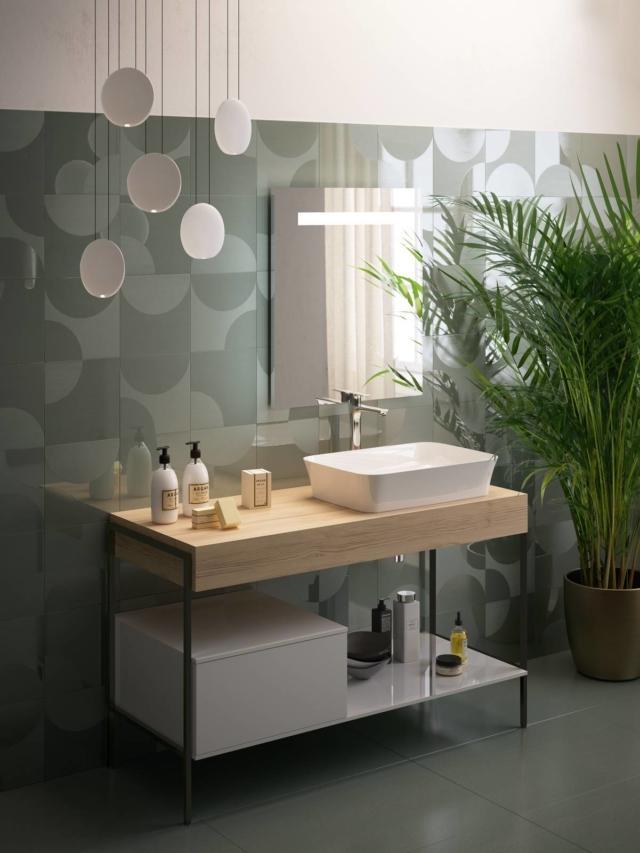 Nuova linea d 39 arredo componibile compatibile con tutti i lavabi di ideal standard cose di casa - Lavabi bagno ideal standard ...