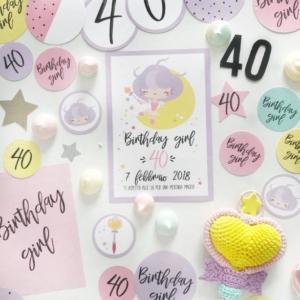 Paper crafting di Manuela Diani, tecnica divertente per colorare e personalizzare la tua festa di compleanno e non solo