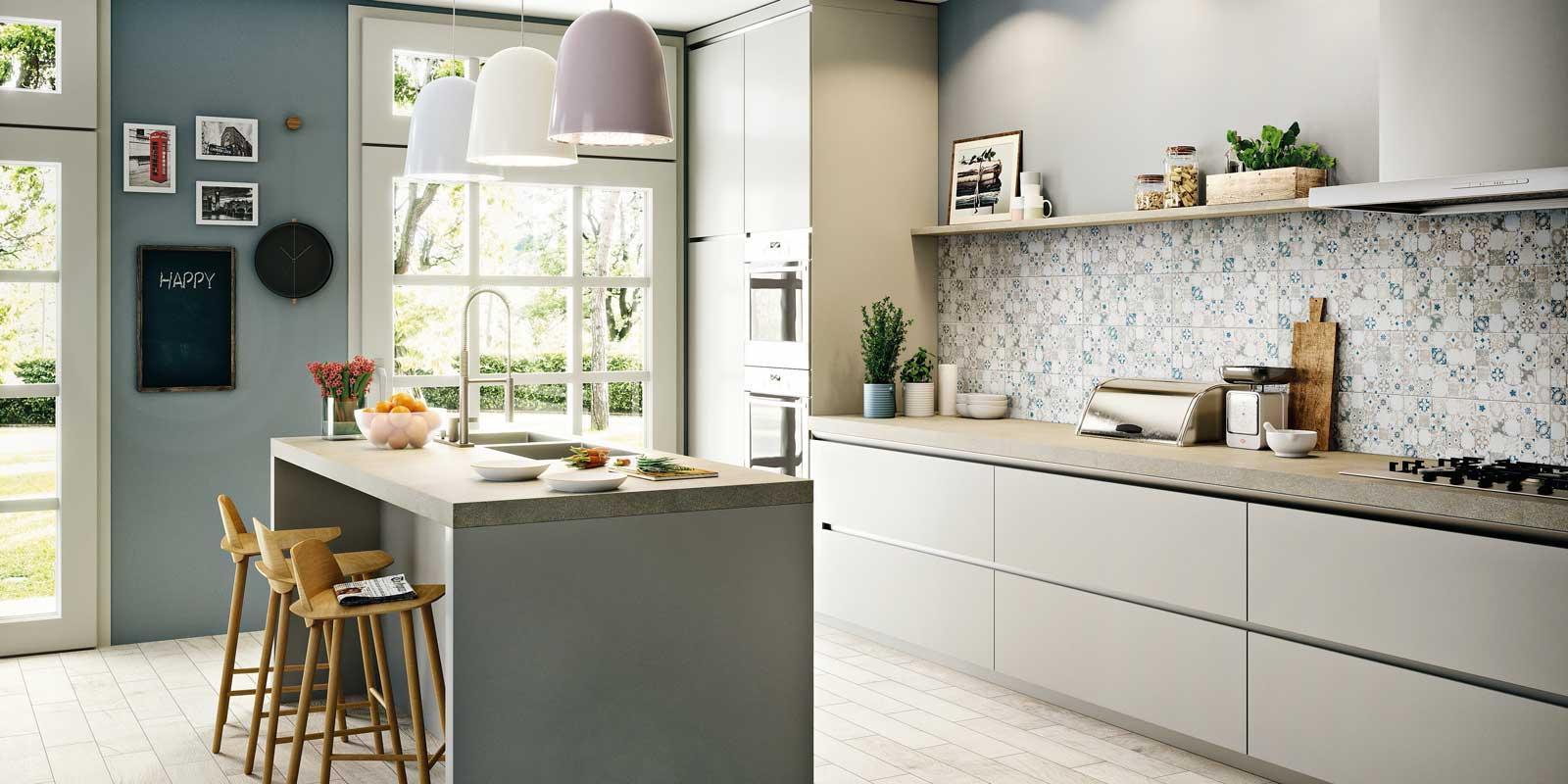 Piastrelle per cucina a prova di macchia cose di casa - Una piastrella policroma per rivestimenti ...