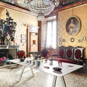 Villa Grismondi Finardi, allestimento di Odo Fioravanti, foto di Ezio Manciucca©