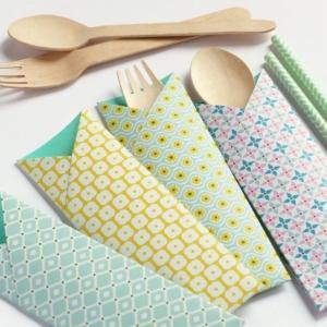 Paper crafting di Sara Sebastiani: il portaposate
