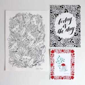Doodle e Sketches di Silvia Raga: scarabocchia il libertà.