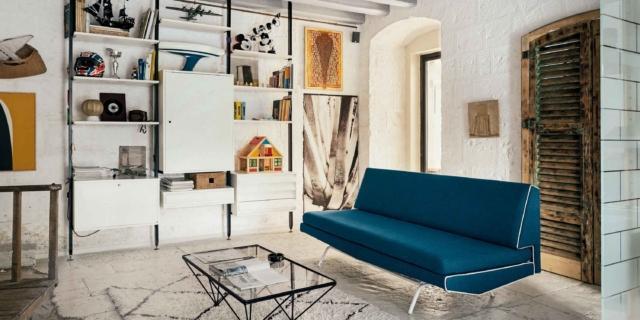 Recupero edilizio a Bari: l'ex legnaia di 58 mq diventa atelier