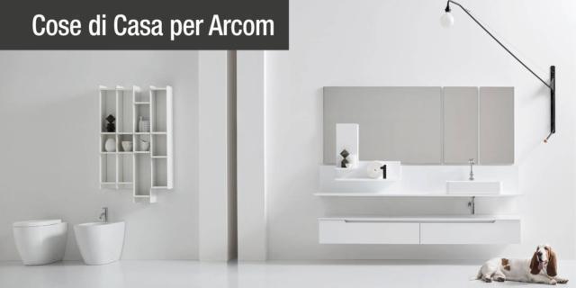 Arredo bagno: Gold, l'ultimo modello disegnato per la linea Arcom