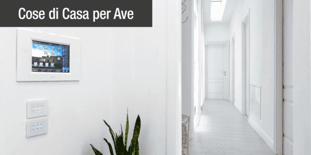 Placche elettriche: le proposte AVE per uno stile total white