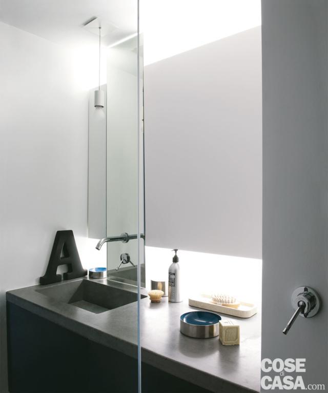 lavabo bagno mansarda 50 mq