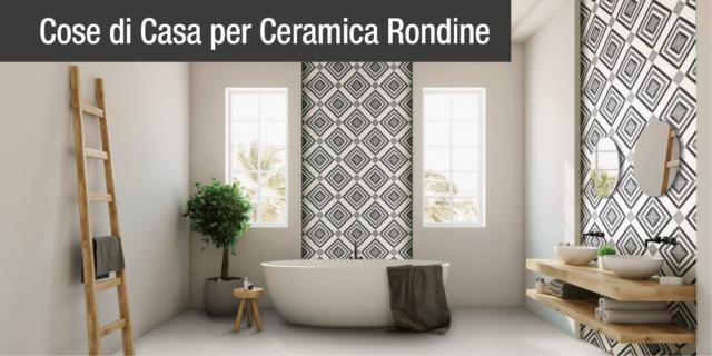Fascino ipnotico e geometrie sinuose: ecco Swing di Ceramica Rondine