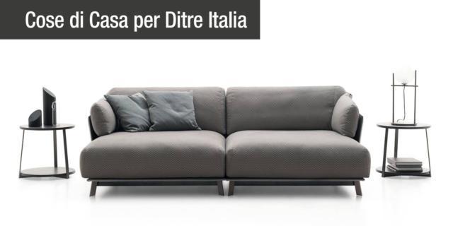 Divano Kailua di Ditre Italia, connubio perfetto tra design e tradizione