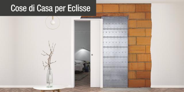 Porte a scomparsa e pareti intonaco: le caratteristiche tecniche del controtelaio
