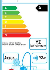Etichetta aspirapolvere