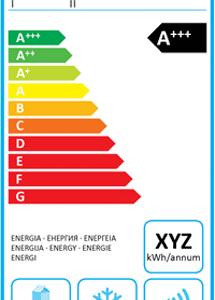 Etichetta frigoriferi